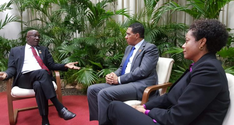 Meeting with the Prime Minister of Trinidad and Tobago